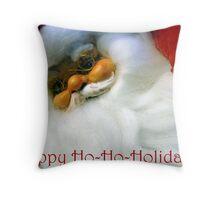 Happy Ho-Ho-Holidays! Throw Pillow