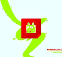 Character Calendar 2009 December by dojoartworks