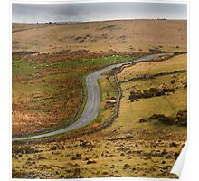 Dartmoor road Poster