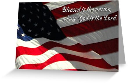 Blessed is the Nation, Whose God is the Lord by Paul Gitto
