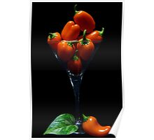 Hot Orange Juice Poster