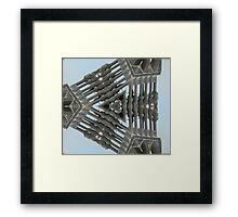 Flying Gothic  Framed Print