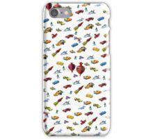 Boys Toys Duvet Cover iPhone Case/Skin