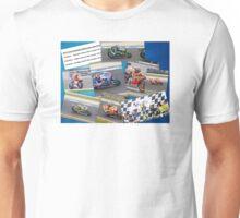Australian MotoGP 2014 winners collection Rossi Lorenzo Smith Marq Marquez Unisex T-Shirt