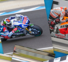 Australian MotoGP 2014 winners collection Rossi Lorenzo Smith Marq Marquez Sticker