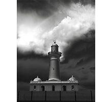 Macquarie Lighthouse Lighthouse in Sydney, Australia Photographic Print