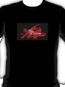 Smaug Fire Death Tea Humor T-Shirt