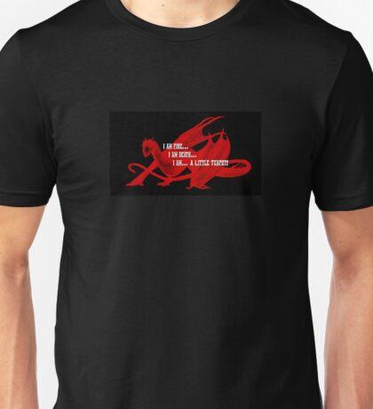 Smaug Fire Death Tea Humor Unisex T-Shirt