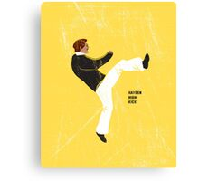 Hayden High Kick (V2) Canvas Print