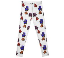 "TEENAGE MUTANT NINJA EWOKS ""TMNE"" Leggings"