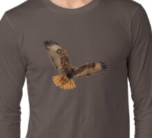 Red- Tailed Hawk 5 Tee Long Sleeve T-Shirt