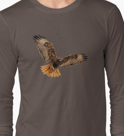 Red- Tailed Hawk 5 Tee Long Sleeve T-Shirt