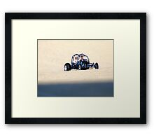 Need A Ride Framed Print