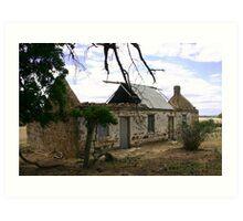 Old Farm House Art Print