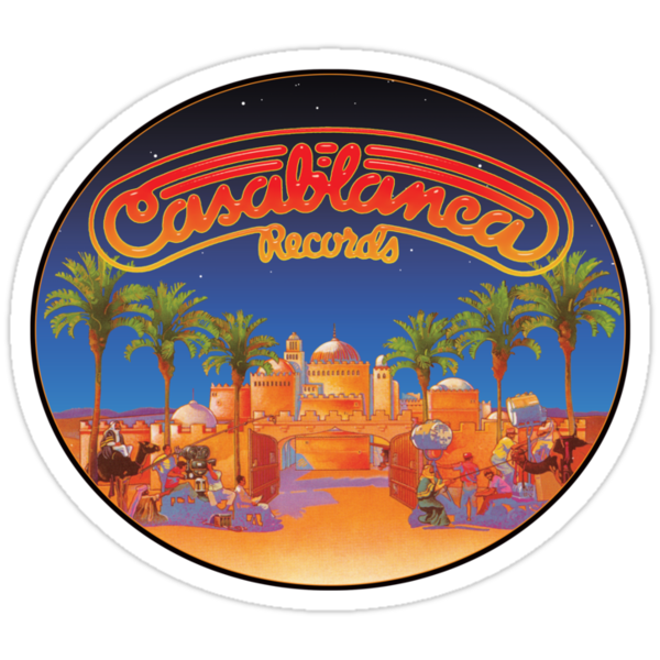 Casablanca Records by superiorgraphix