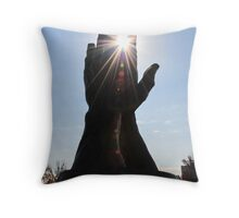 Reach For The Sun Throw Pillow