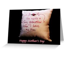 Fairy Godmother: Mother's Day Greeting Card