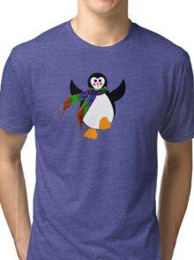 Winter Penguin Tri-blend T-Shirt