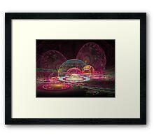 'Circus World' Framed Print