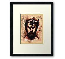 Wolverine! Framed Print