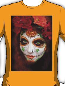 dios des los muertos- sugar skulls 3 T-Shirt