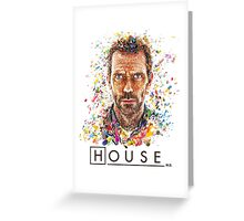 House MD - Pills  Greeting Card