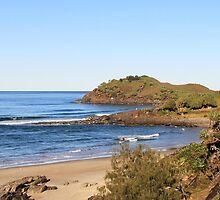 Cabarita Headland by Ron Finkel
