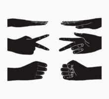 Scissors, paper, rock by Zach Muldoon