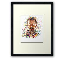 House MD Pills - No Logo Framed Print