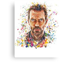 House MD Pills - No Logo Canvas Print