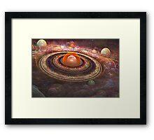 'Ring Thing' Framed Print