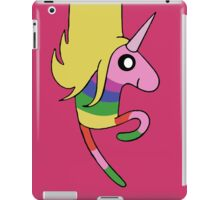 Adventure Time - Lady Rainicorn in Raspberry  iPad Case/Skin