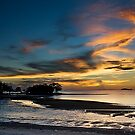 Beautiful Dusk @ Port Dickson by Steven  Siow