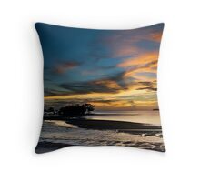 Beautiful Dusk @ Port Dickson Throw Pillow