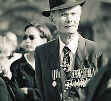 Melbourne ANZAC day parade ca.2001 - 02 by Norman Repacholi