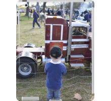Truck. iPad Case/Skin