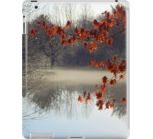 Mist of the river iPad Case/Skin