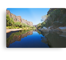 Windjana Gorge Metal Print