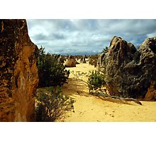 The Pinnacles, Nambung National Park, Cervantes, Western Australia Photographic Print
