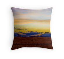 Typical Wimmera Sunset Throw Pillow