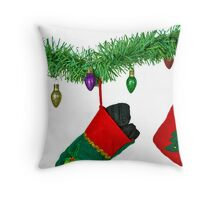 What's In Your Stocking? Throw Pillow