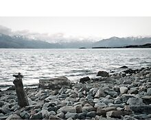 A rock to contemplate - New Zealand Photographic Print
