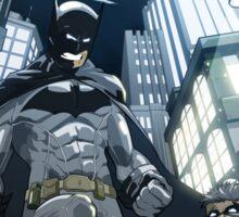 Batman, Robin and Gotham Sticker