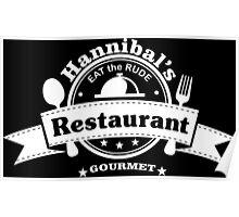 Hannibal Restaurant Poster
