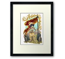 fantasy knight ricky  Framed Print