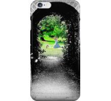 Through to Wonderland iPhone Case/Skin