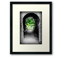 Through to Wonderland Framed Print