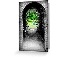 Through to Wonderland Greeting Card