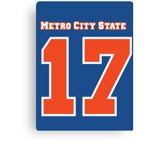 Brad McQuaid Metro City State Statesmen Canvas Print