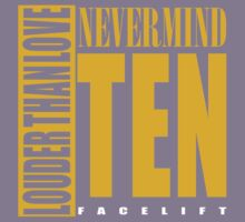 Nevermind Ten Facelift Louder than the Sound Grunge albums Kids Clothes